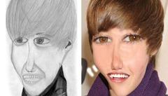 10 desenhos de fãs, que deixaram celebridades horríveis