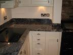 Azul Bahia granite worktops