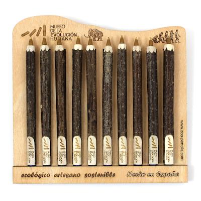 museo de la evolucion humana - ballpen, kugelschreiber, boligrafo