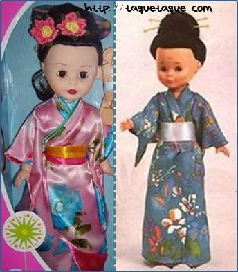 nancys de coleccion geisha y geisha original setentera 70 70s