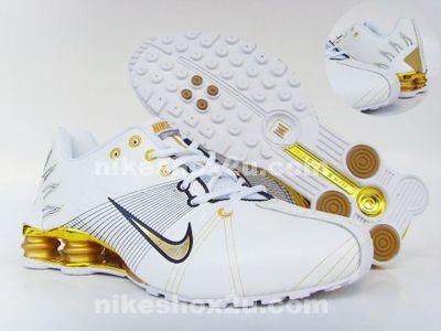 photo de new balance - Nike Shox Monster Mens White Golden | Mormon Gender Issues Survey ...