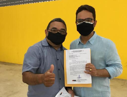 Vereador Nal se encontra com Secretário Tibério Limeira e apresenta ações