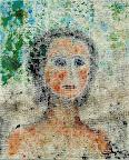 051 - Charlotte - 1994 61 x 50 - Acrylique sur toile