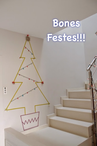 Not 2 late to craft: Bones festes guarniments / Merry Christmas washi tape ornaments