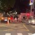 Acidente entre carro e moto deixa feridos no bairro de Jaguaribe, em João Pessoa