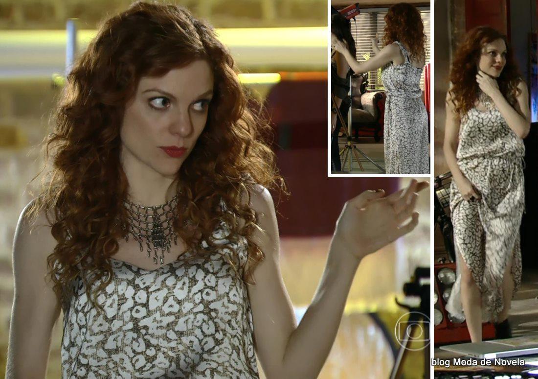 moda da novela Em Família - look da Vanessa dia 28 de abril