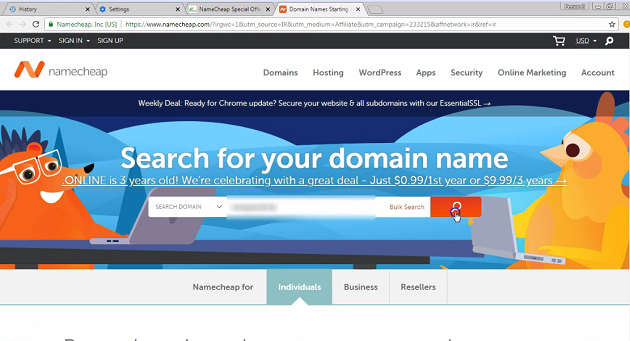 namecheap-website