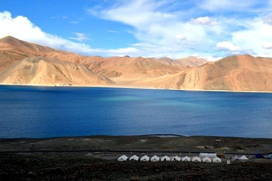 Gotravelad: Beautiful Places Pangong Lake in India