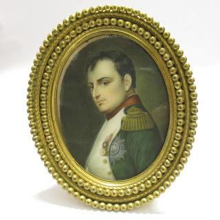Miniature Signed Portrait of Napoleon