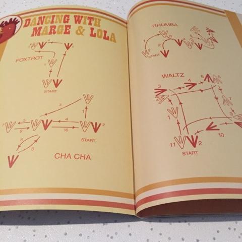 chicken dance book dance moves