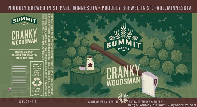 Summit Brewing Adding Cranky Woodsman Cans