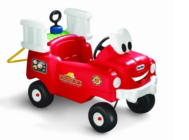 Xe chòi chân mô hình xe cứu hỏa Little Tiked