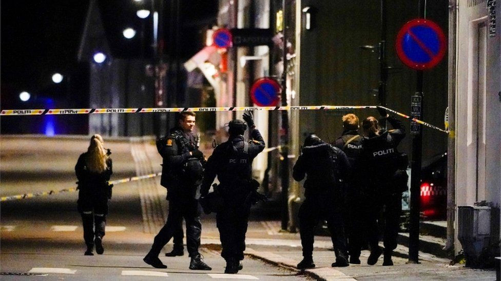 Five dead in Norway and two injured after man goes on bow and arrow attack