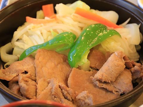 新日本海フェリー「らいらっく」 レストラン 夕食 その2