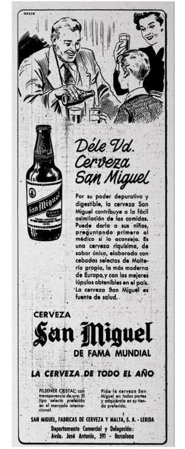 San Miguel publicidad