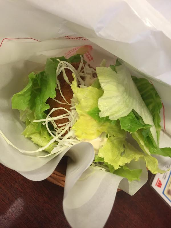 モス 菜摘バーガー