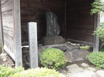 川崎 芭蕉の句碑