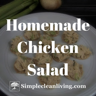 Homemade Chicken Salad.