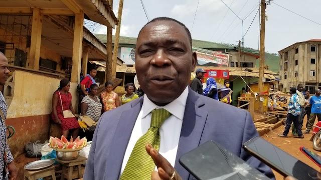 Tubah Mayor restores public order, road construction resumes
