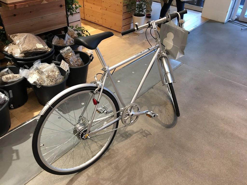 無印良品で自転車を買いました