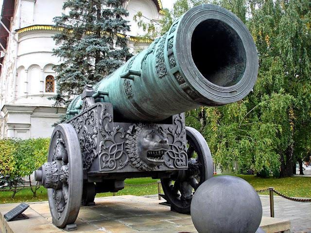 Tsaar kanon in Moskou