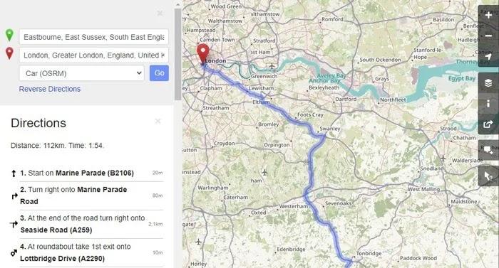بدائل خرائط Google Openstreetmap