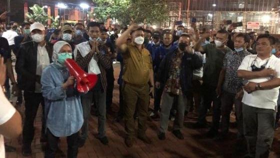 Geruduk Acara Demokrat Kubu Moeldoko, Iti Jayabaya: Ini Banten, Bung!