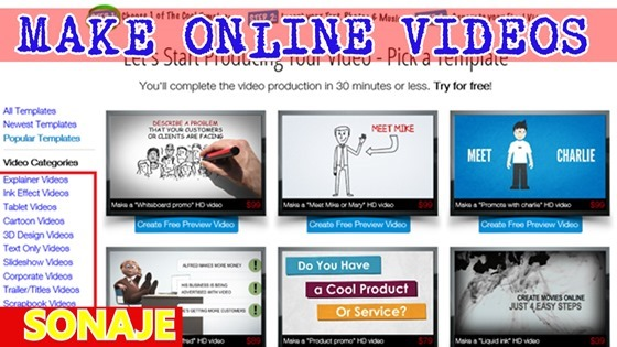 how to make online videos