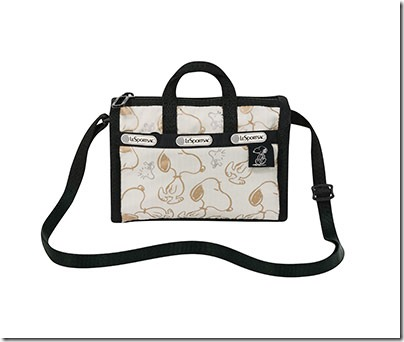 Peanuts X LeSportsac 3273 Shellie Crossbody 03
