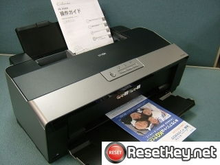 Epson PX-G5300 Waste Ink Pads Counter Reset Key