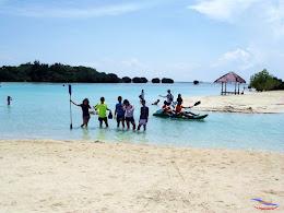 family trip pulau pari 140716 Fuji 196