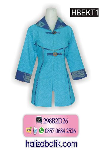 model blus batik, jual baju murah, baju batik online