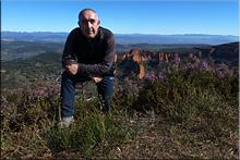 Alto de Reirigo mendiaren gailurra 980 m. --  2015eko apirilaren 4an