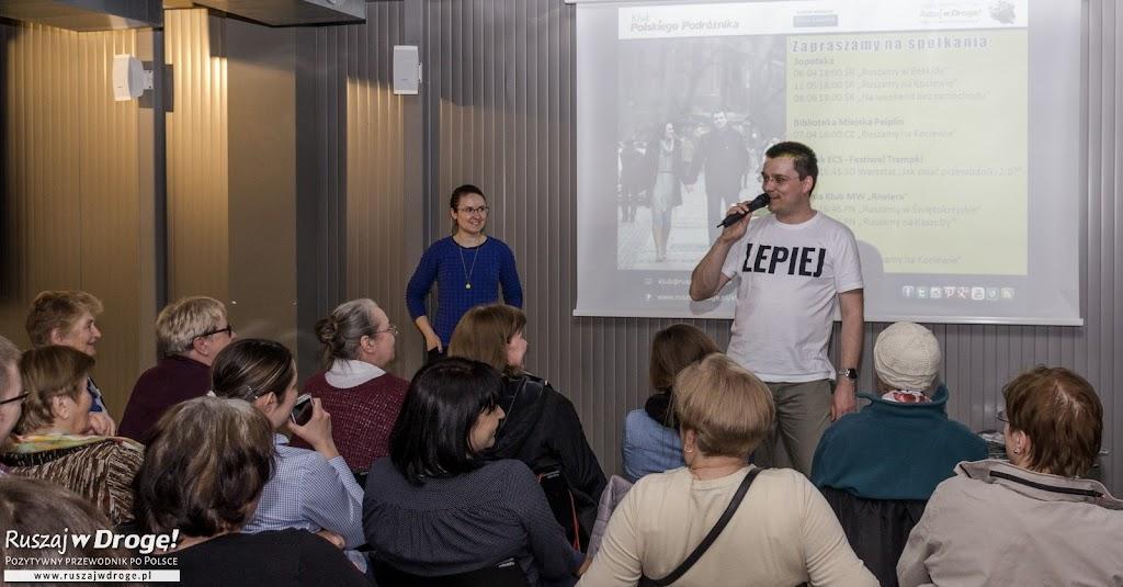 Klub Ruszaj w Drogę! - cykl spotkań podróżniczych z miłośnikami wycieczek po Polsce