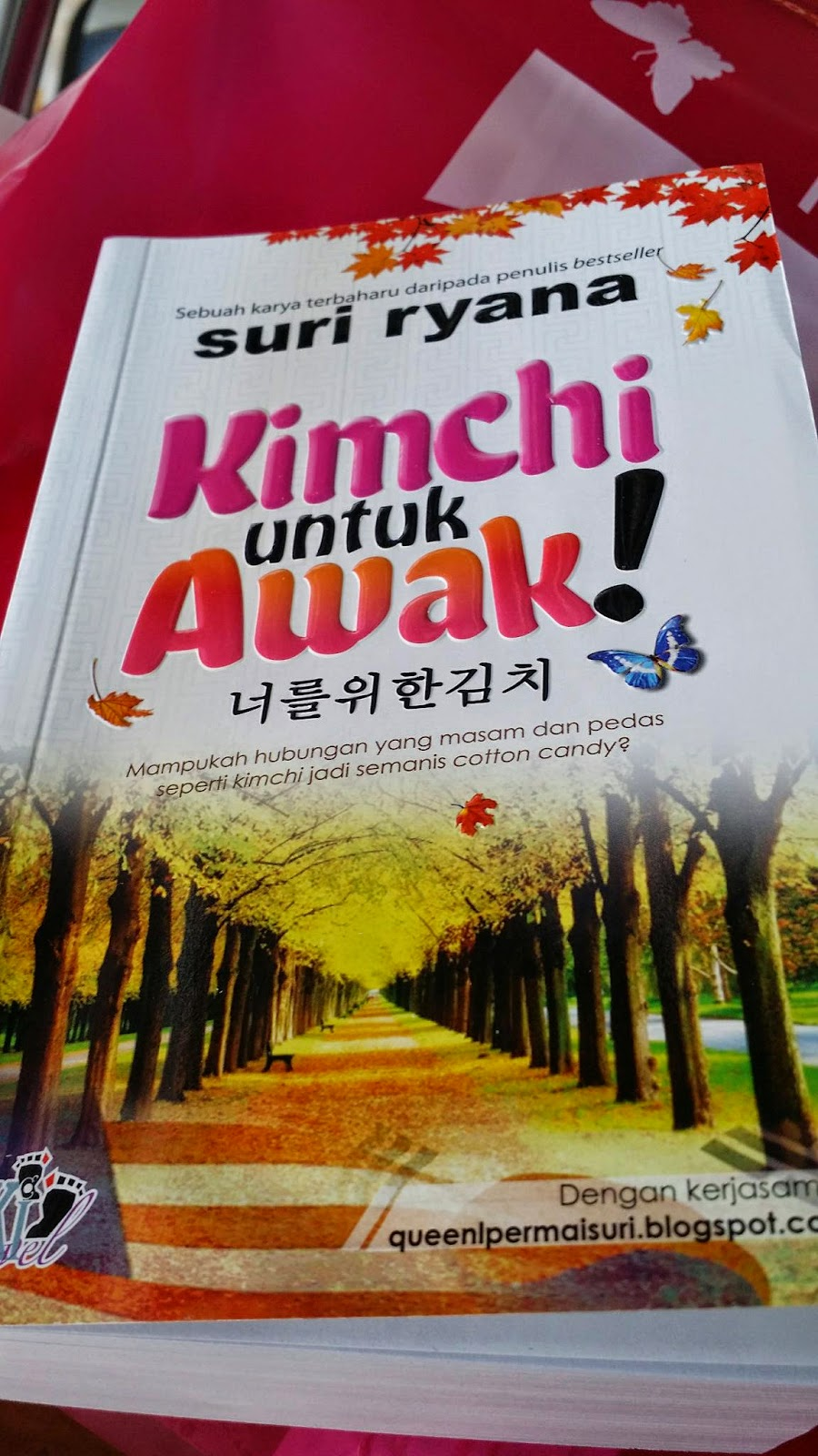 Resensi Novel: Kimchi untuk awak! - suri ryana