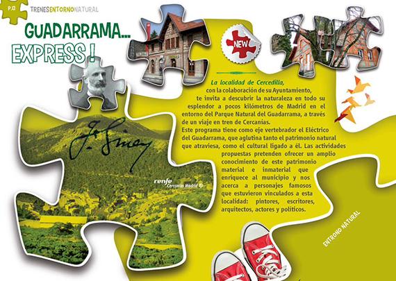 Guadarrama Express - Disfruta del entorno natural de Guadarrama en tren
