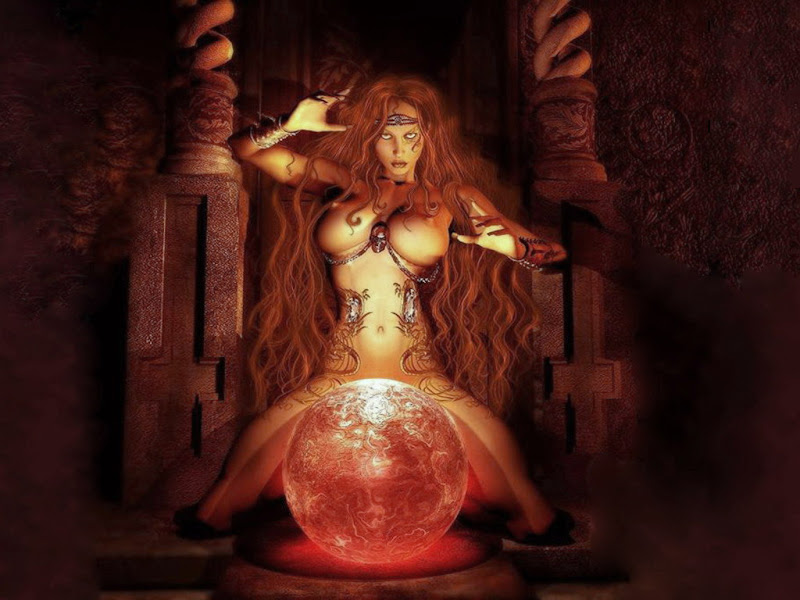 Casting Spells By Wicca, Magic And Spells