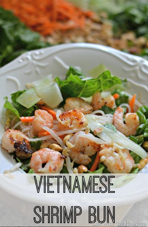 Vietnamese Shrimp Bun