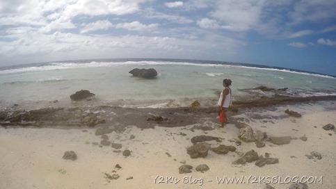 Reef esterno e spiaggia - Toau