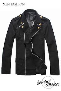seven domu jacket+korea+double+zipper+sk08+ +5
