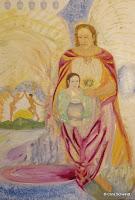 'Erzengel Gabriel', Öl auf Leinwand, 160x110, Januar 2012