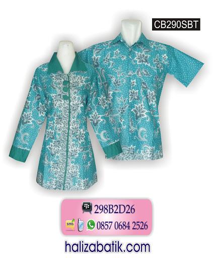 Baju Batik Sarimbit, Model Baju Batik, Baju Batik, CB290SBT