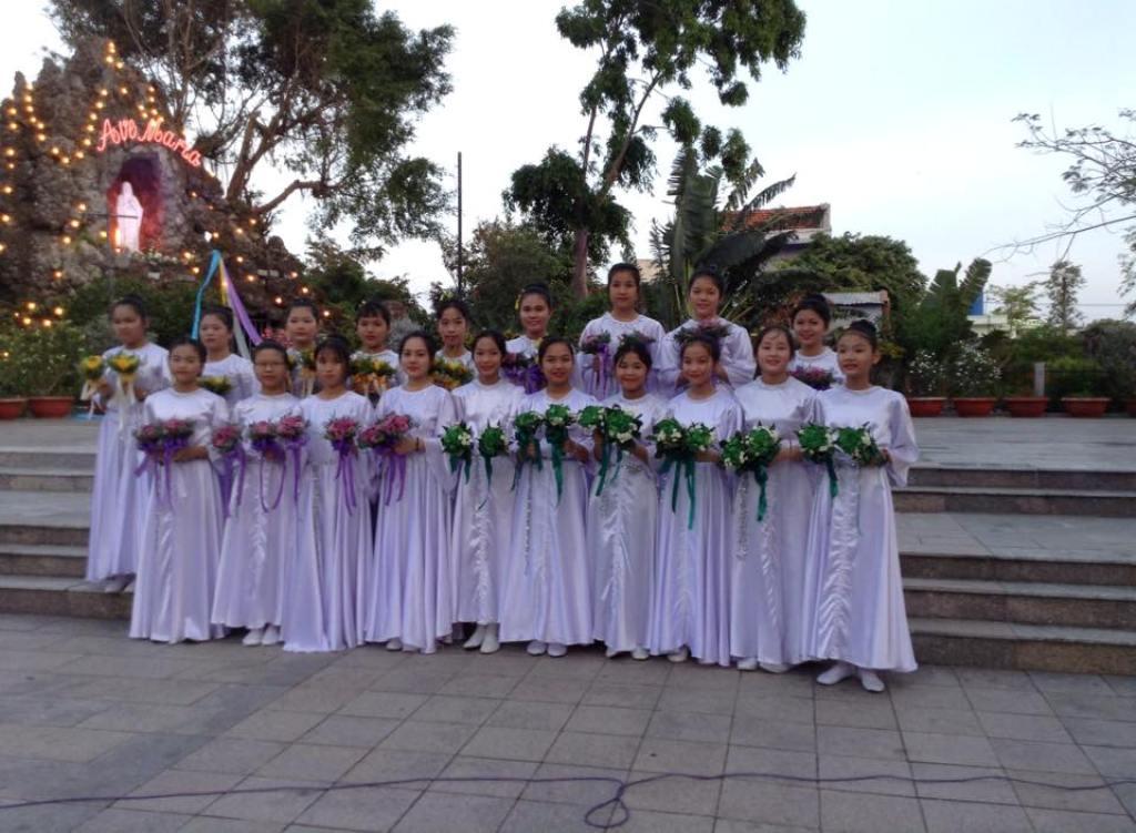 Giáo xứ Tuy Hòa khai mạc tháng hoa 2018