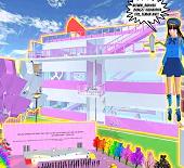 ID Rumah Aesthetic Lantai 3 Di Sakura School Simulator
