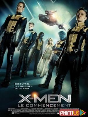 Phim Dị Nhân 5: Thế Hệ Đầu Tiên - X Men: First Class (2011)