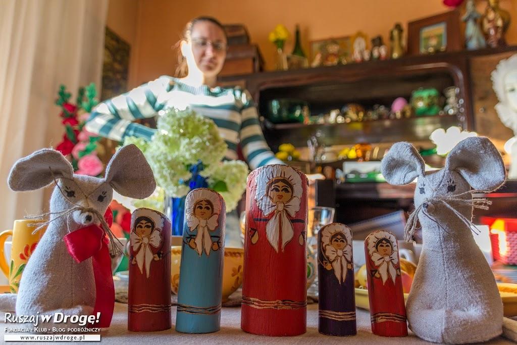 Warminki i Warmyszy od Krystyny Tarnackiej - super pamiątki z Warmii