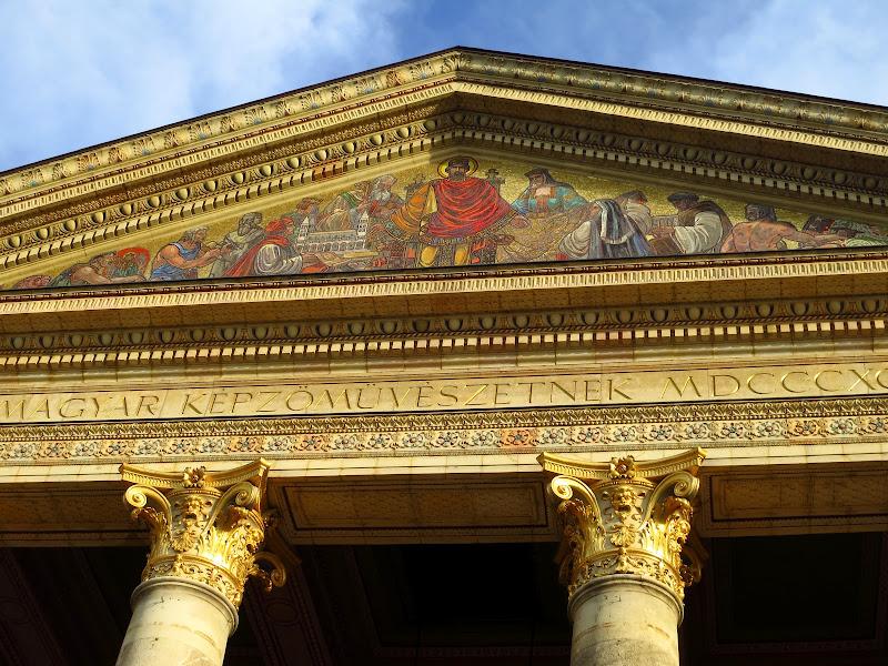 Magyar Museum - detail