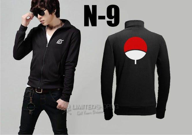 limited shoping n 9 jaket naruto uchiha symbol
