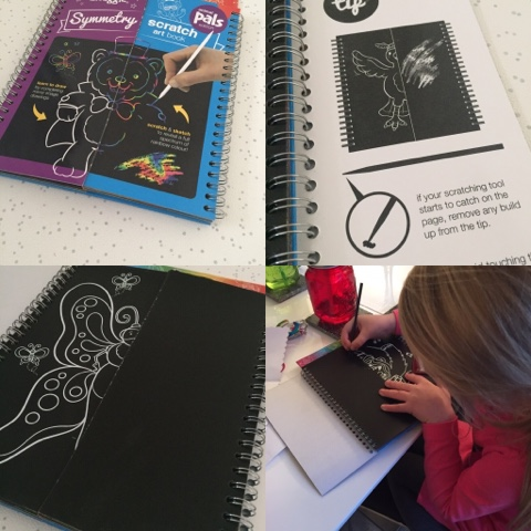 smiggle scratch art