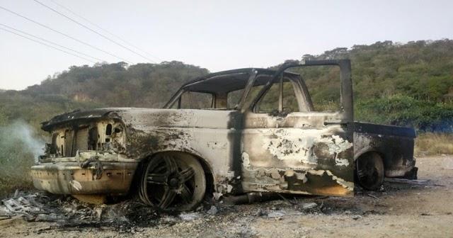 Se quema camioneta en la villa uni n concordia entre veredas for Union de villa jardin concordia